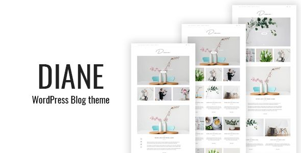 Ad: Diane - Clean WordPress Blog Theme - Personal Blog / Magazine 49$