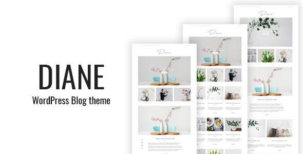 Ad: Diane - Clean WordPress Blog Theme - Personal Blog / Magazine 49$