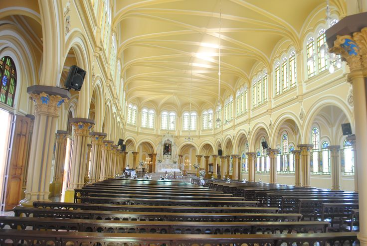 Instituto LaSalle church over a 100 year old and beautiful barroco style well preserve place to visit for sure