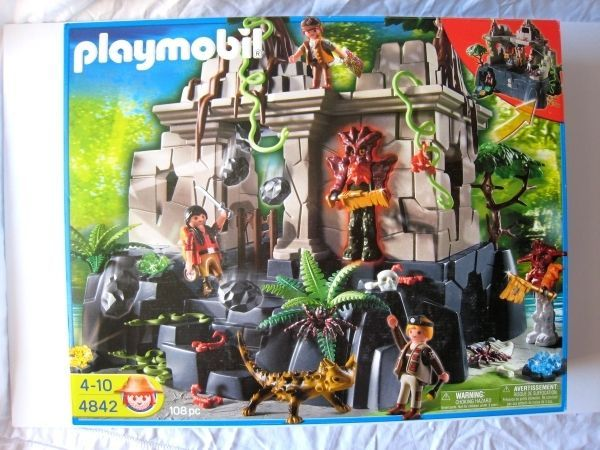 SEALED - NEW - Playmobil 4842 Treasure Temple with Guards #4842 Retired Germany   Toys & Hobbies, Preschool Toys & Pretend Play, Playmobil   eBay!