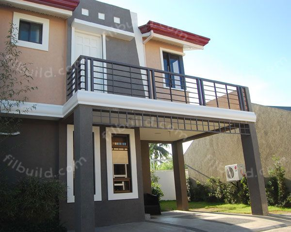 Filipino architect contractor 2 storey house design for Bedroom ideas philippines