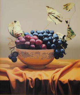 Осенний натюрморт, оригинальный холст, масло картина Валерия Цветкова
