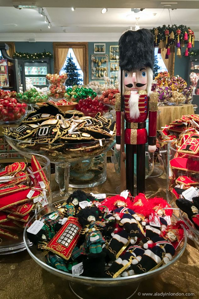 Fortnum and Mason Christmas Shop in London