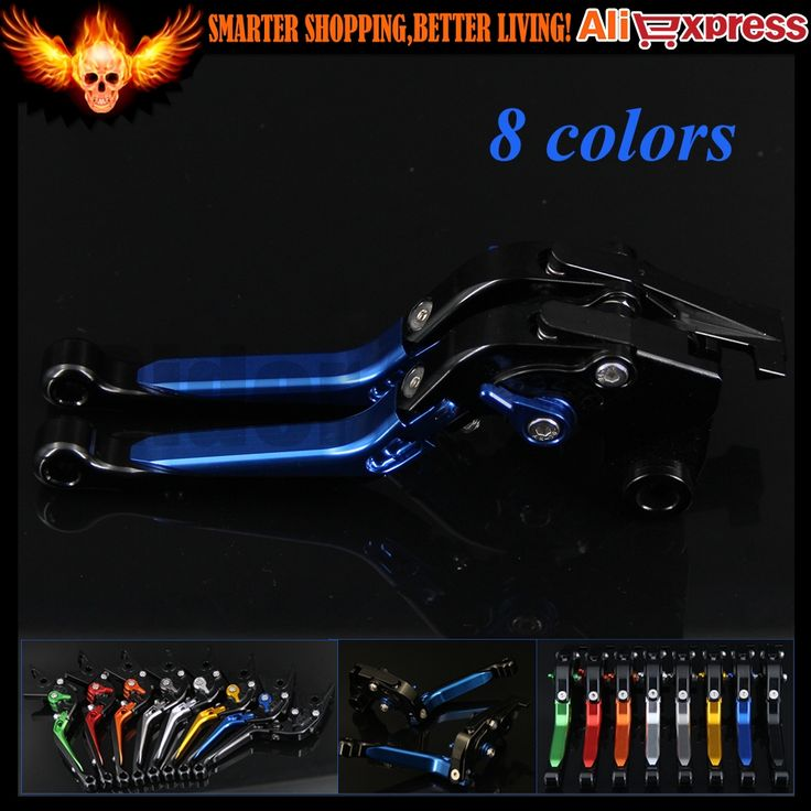 32.51$  Buy here - http://aieyu.worlditems.win/all/product.php?id=32764672950 - Blue+Black Adjustable Folding Extendable Motorcycle Brake Clutch Levers For Suzuki GSXR600 1997 1998 1999 2000 2001 2002 2003