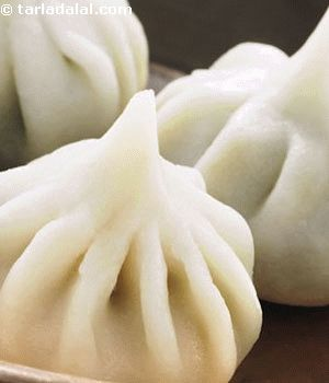 Modak is a sweet dumpling stuffed with a filling of coconut and jaggery. Famous in western and South India.
