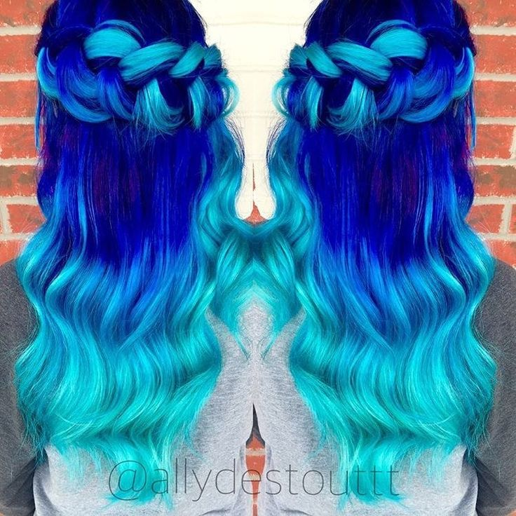 Color Hairstyles Fair 132 Best Hair Color Images On Pinterest  Colourful Hair Braids And