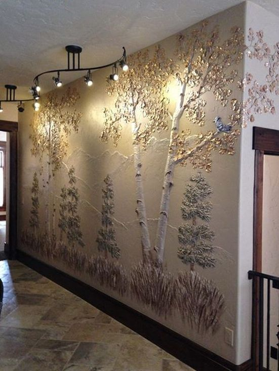 Award winning artist Bonnie Norling Wakeman, transforming walls.com