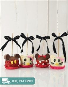 Candy Apples: Cartoon Characters Candy Apple Combo!