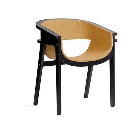 Corza Chair - Black, Cork - roomologi  - 1