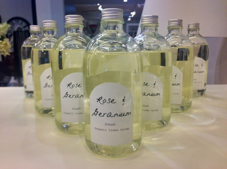 Delightfully scented syrup for clothes washing. $35 per bottle