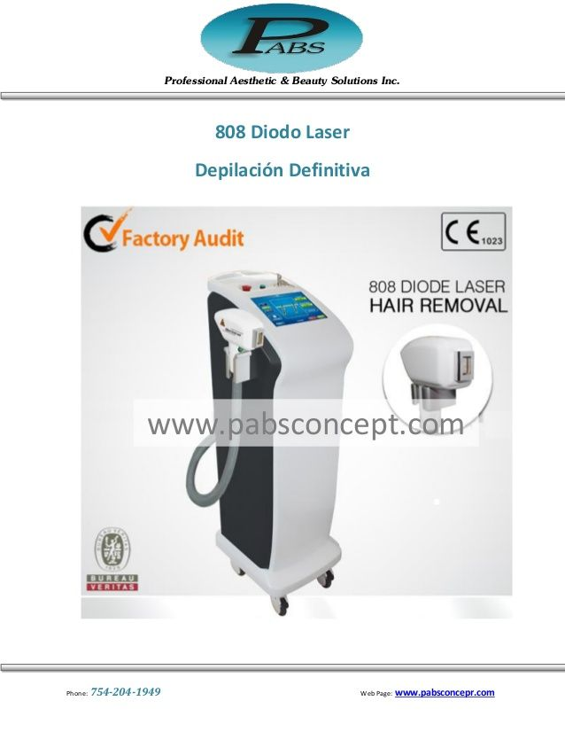 Factional CO 2 & 808 diodo laser  by Pabs Equipos Esteticos via slideshare