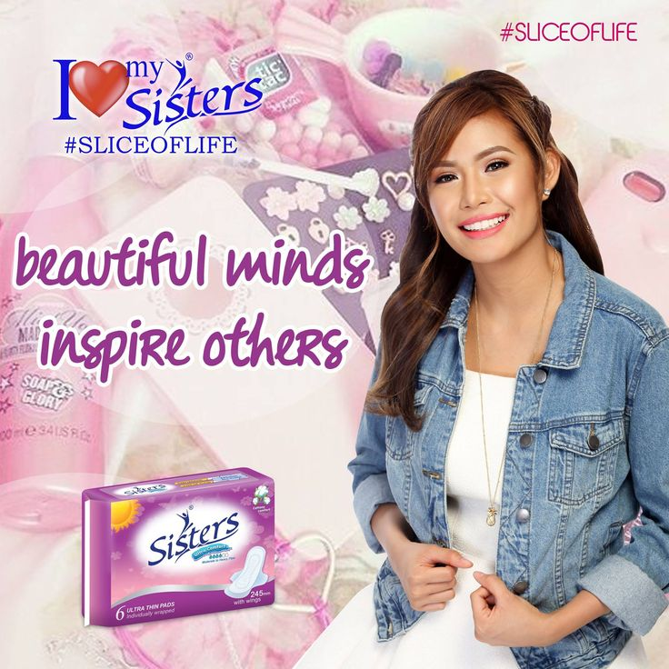 Keep inspiring others. ☺ ☝ 💖 #SistersPH #ILoveMySisters #StandProud #WeAreOneWeAreSisters #SistersUT #UltraThin #SliceOfLife