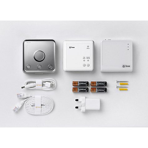 £179 Buy Hive Active Heating & Hot Water with Self-Installation Online at johnlewis.com