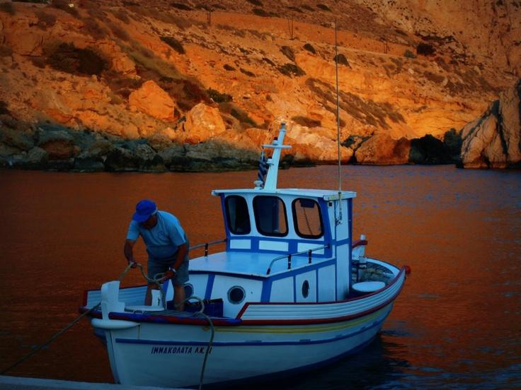 in Karpathos Waters..!