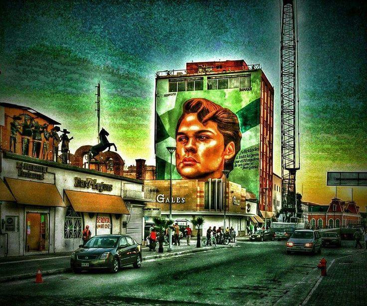 mural de juan gabriel juarez de mis recuerdos