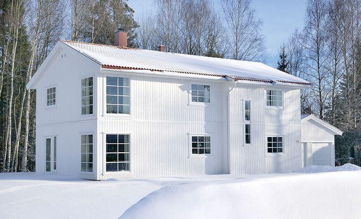 Et hus med detaljer som faller i smak. Nupen er et romslig hus i to etasjer. Det er en blanding av tradisjon og nye detaljer. http://www.norgeshus.no/hus/nupen/