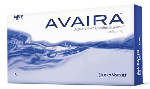 CooperVision Avaira Contact Lenses 6 Packs (USD 25.95)