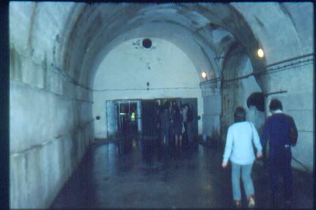 Tunnel to Hospital /Main entrance