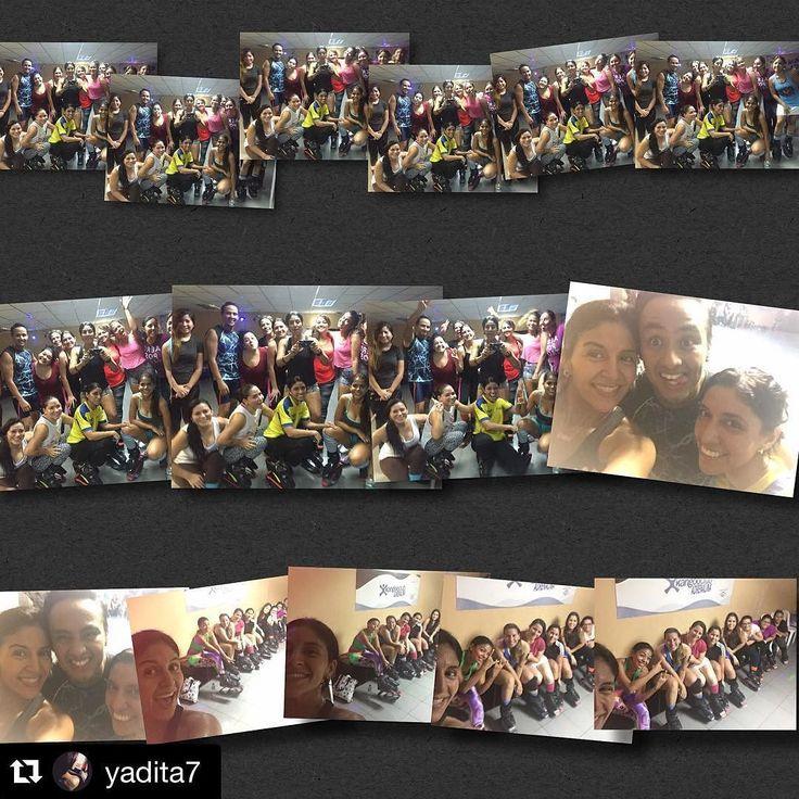 #Repost @yadita7 with @repostapp.  Y así terminamos el viernes !!! Gracias por compartir conmigo cada locura q se me ocurre los quiero mucho  #sonespectaculareschic@s #quientienemagianonesecitatrucos  #trabajoduro #noimproviso  by kangooclubadrenalina