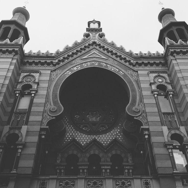 Jerusalem Synagogue, Prague. | surlemisanthrope | VSCO Grid
