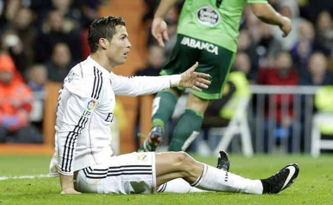 Błąd sędziego w Primera Division • Real Madryt vs Celta Vigo • Śmieszne nurkowanie Cristiano Ronaldo • Undiano Mallenco dał się nabrać >>