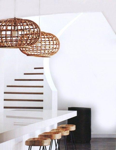 white kitchen - beach house