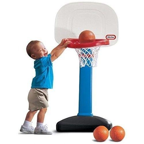Kids Adjustable Basketball Hoop Set Indoor Outdoor Toy Toddler Fun Game Gift New #LittleTikes #ebay