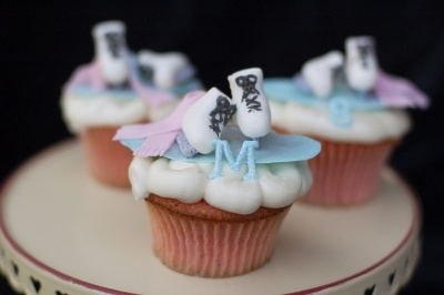 Ice Skating Cupcakes By modthyrth on CakeCentral.com
