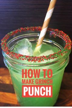 How to Make Grinch Punch #punch #grinchpunch  www.ohgrate.com
