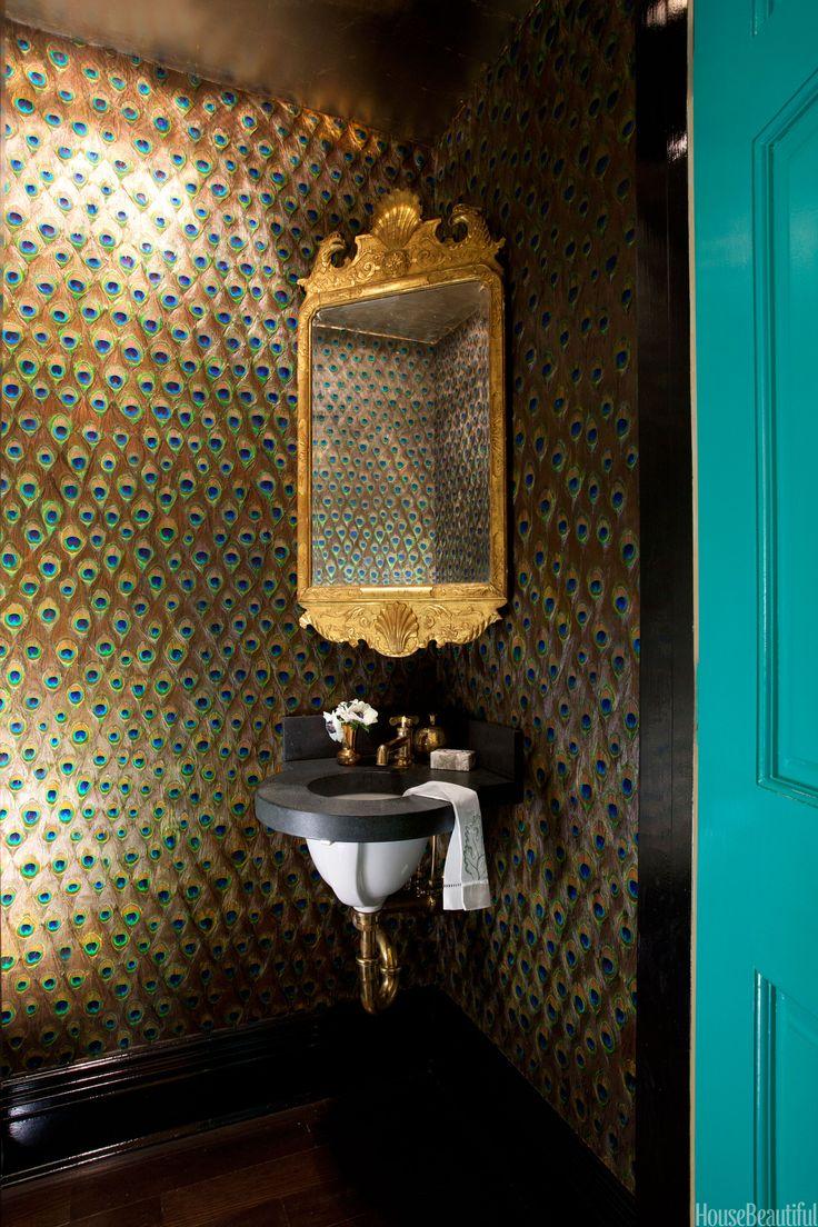 Brown marble bathroom miles redd - 298 Best Powder Room Images On Pinterest Bathroom Ideas Powder Rooms And Bathrooms
