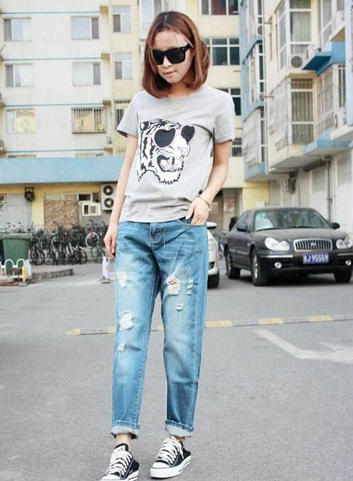 Korean Brand Retro High Waist Jeans   Outlet Value Blog