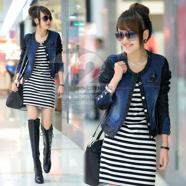 How to Wear Variety Jeans Jacket Women