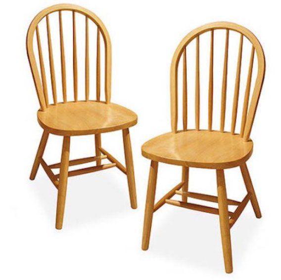Стулья Windsor Chair, Set of 2, Natural: купить с доставкой из США на shopozz.ru - (252796894383)