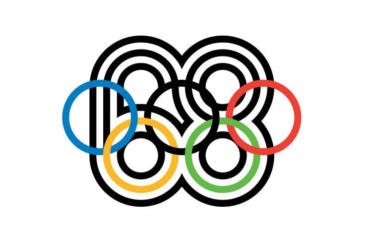 Lance Wyman 1966 Mexico68 Olympic Games Mexico City, Mexico