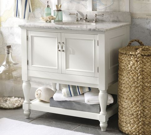 Think I finally found the vanity for the hall bath.