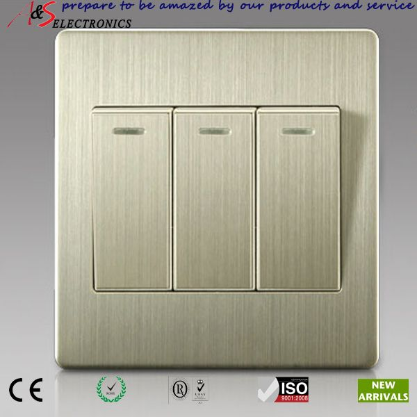 Switch Face Plate Amazing Electrical Material 3 Gang 2 Connector S Electric Switches On Decorating Design