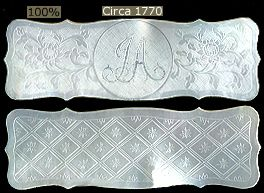List of INITIALS & MONOGRAMS in Antique Chinese Mother of Pearl Gaming Counters - Gambling Chips, Fine Jewelry & Custom Designs