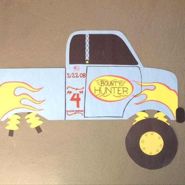Best Caleb S Monster Truck Party Images On Pinterest Monster