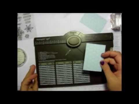 Make tags using the Stampin' Up! Envelope Punch Board by We R Memory Keepers