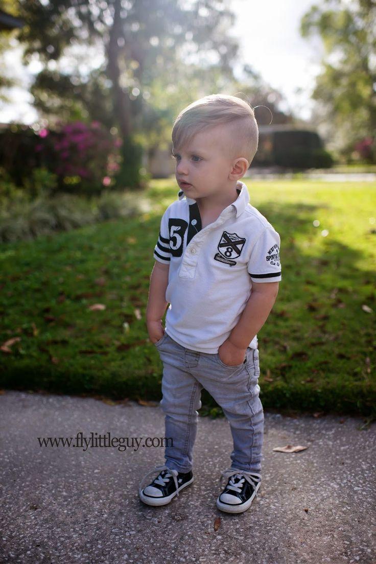 Stylish Toddler Boy.