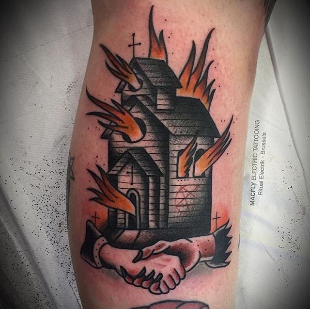 Best 25 church tattoo ideas on pinterest black tattoos for Salt and light tattoo