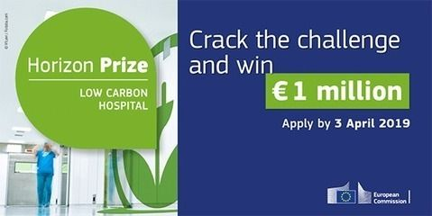 Horizon Prizes Low carbon hospital € 1 million