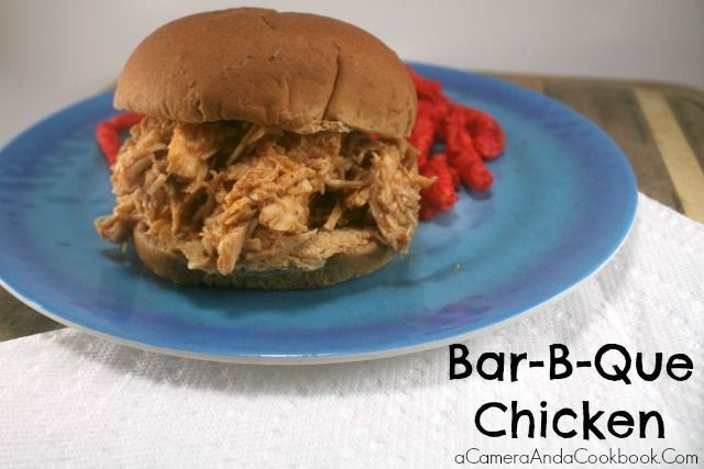 Bar-B-Que Chicken - super easy and kid pleaser for sure!