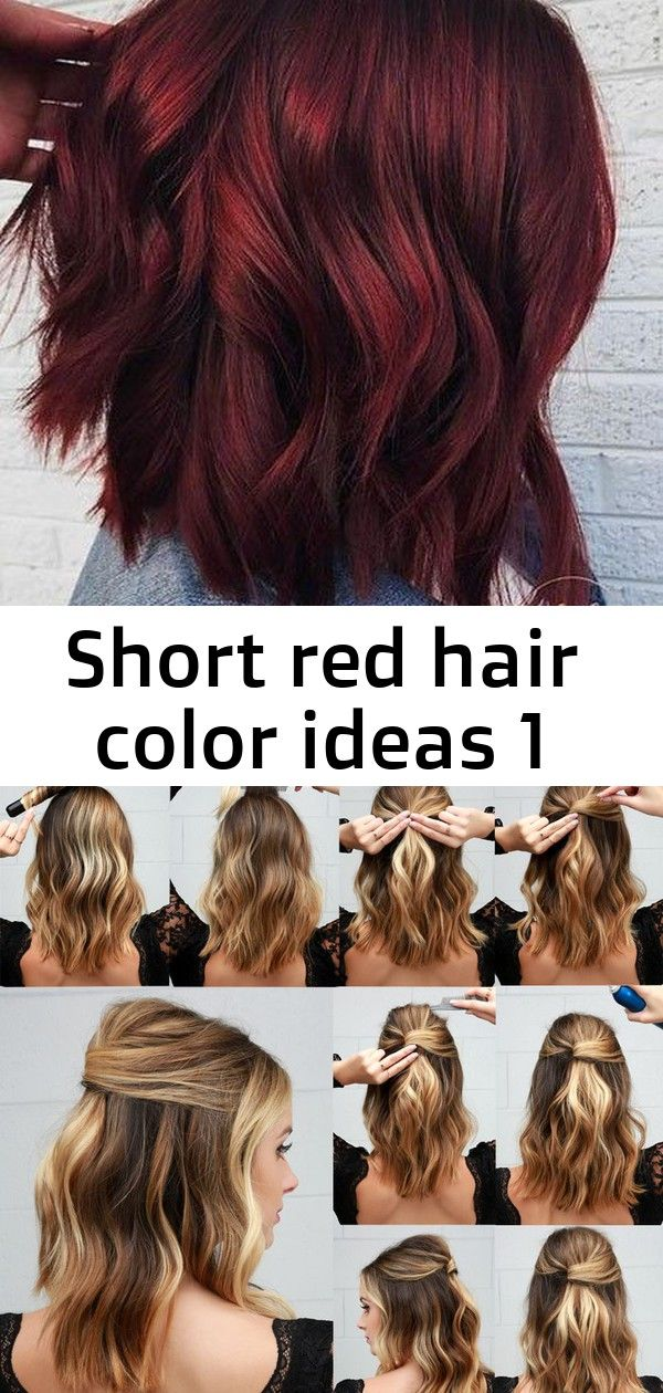 Short Red Hair Color Ideas 1 Red Hair Color Short Red Hair Hair Color