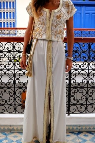 Traditionnal day:Morroco ( how to wear Kaftans) Caftans | The fashion Dressing!