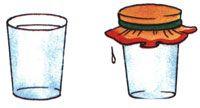 """Может ли """"кипеть"""" холодная вода?  Для проведения опыта вам понадобятся: плотный носовой платок, стакан воды, аптечная резинка.  1. Намочим и выжмем носовой платок. 2. Нальём полный стакан холодной воды.  3. Накроем стакан платком и закрепим его на стакане аптечной резинкой. 4. Продавим пальцем середину платка так, чтобы он на 2-3 см погрузился в воду. 5. Переворачиваем стакан над раковиной вверх дном."""