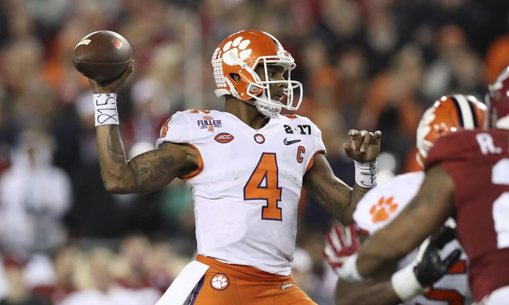 Clemson QB Deshaun Watson impressing teams with football IQ = According to Michael Lombardi, Clemson QB Deshaun Watson has already started impressing teams, even without yet throwing the football. They like his leadership skills, understanding of coverages, offensive knowledge, and general football IQ.  That's all big for Watson. It's not that…..