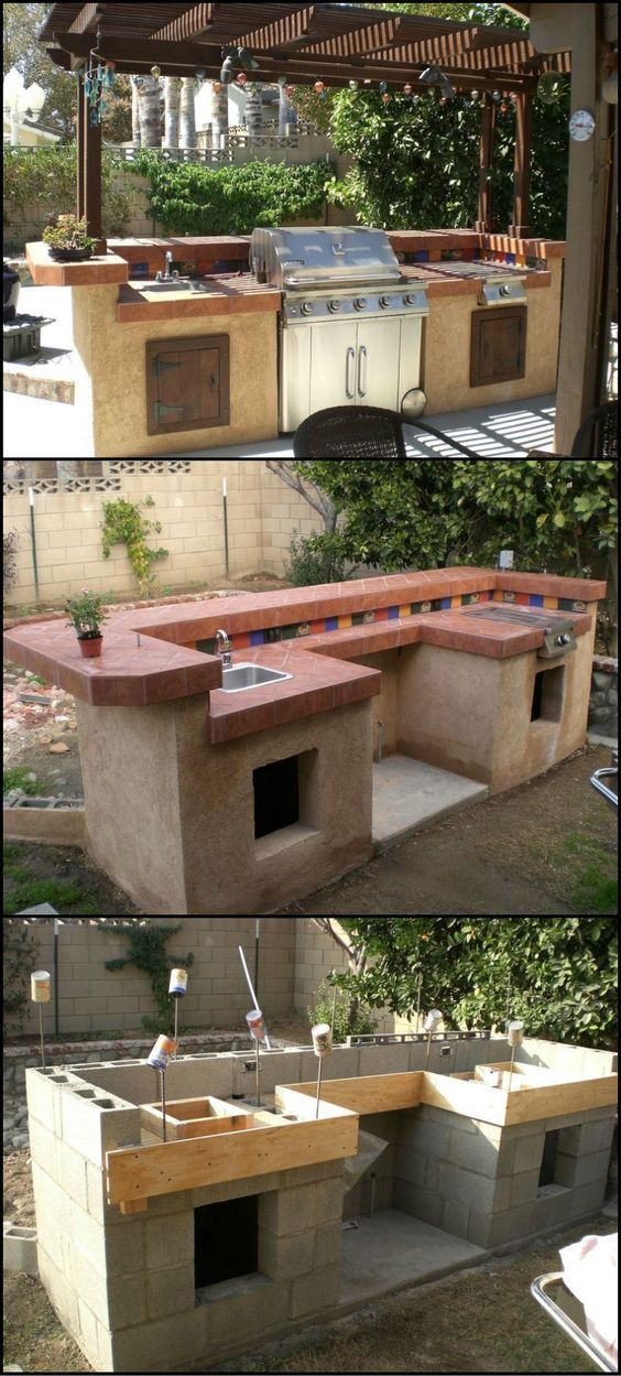 14 Incredible Outdoor Kitchen Ideas Outdoor kitchen ideas