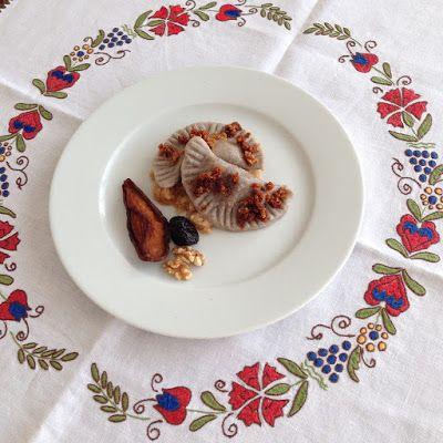 SWEET BUCKWHEAT POCKETS - SWEET BUCKWHEAT DUMPLING, traditional dish from Kozjansko region made in sweet variant.
