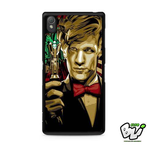 Doctor Who Matt Smith Sony Experia Z3,Z4,Z5,C3,C4,E4,M4,T3 Case,Sony Z3,Z4,Z5 MINI Compact Case